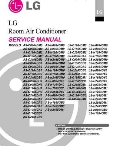 LG LS-C1264GB0 Manual by download Mauritron #305371