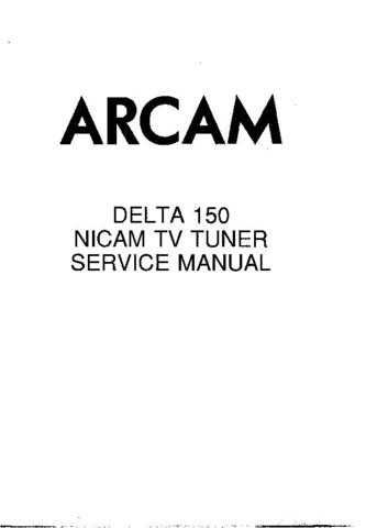 Arcam Delta 150 Manual by download Mauritron #327266