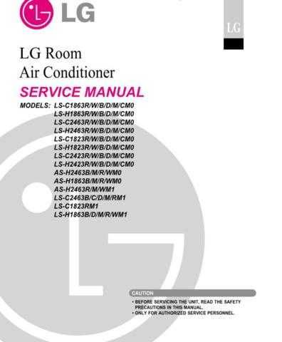 LG LS-H1863CMO Manual by download Mauritron #305440