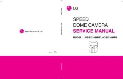 LG LPT-SD168HM_163HM EV Manual by download Mauritron #305358