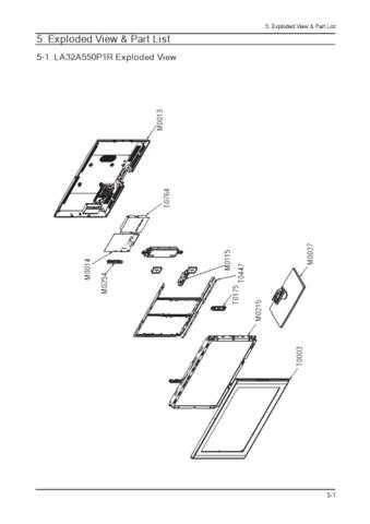 20080723101626859 05 EXPLODED VIEW PART LIST(VER2.0) 2 Manual by download Mauritron #