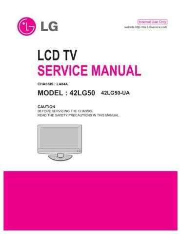 LG MFL41370002_42LG50-UA Manual by download Mauritron #305741