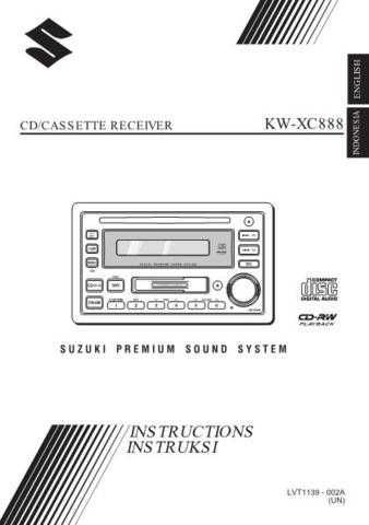 JVC KW-XC888-2 Service Manual by download Mauritron #282635
