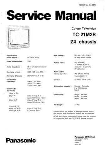 Panasonic TC_20LA2_ENG_758 Manual by download Mauritron #301830