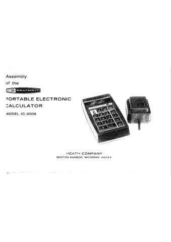 Heathkit IC-2009 Assembly by download Mauritron #327493