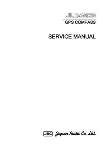 JRC JLR30 GPS Compass Service by download Mauritron #312522