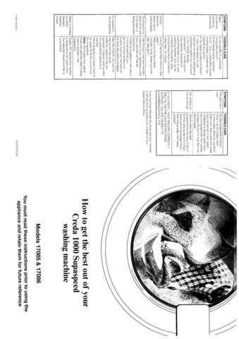 Creda 1000 Supaspeed 17085 Operating Guide by download Mauritron #306940