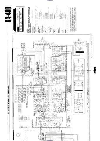 Kenwood KA400 Manual by download Mauritron #312524