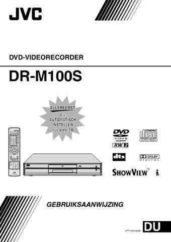 JVC LPT1023-003B Operating Guide by download Mauritron #293569