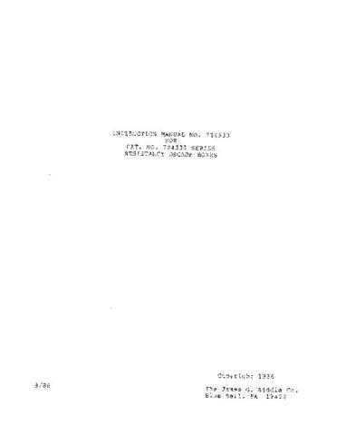 Biddle 72-439 Operating Guide by download Mauritron #309418