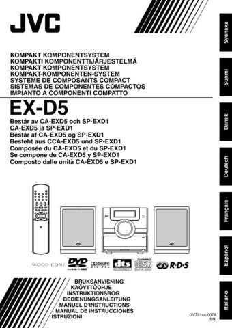 JVC EX-D5-2 Service Manual by download Mauritron #274048