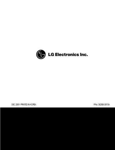 LG 3828EA3013A-???? Manual by download Mauritron #304107