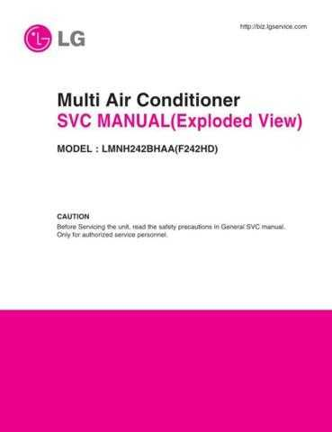 LG MFL35866910 CDC-2182 Manual by download Mauritron #305594