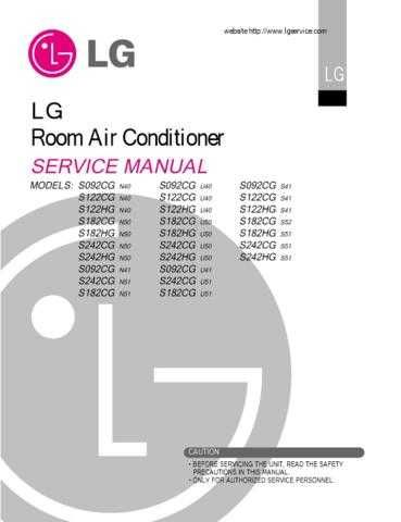 LG A20462F Manual by download Mauritron #304418