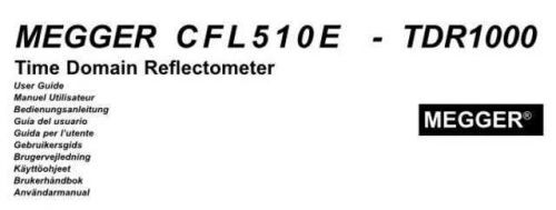 Biddle CFL-535E Operating Guide by download Mauritron #309583