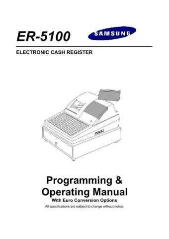 Samsung ER5100 Cahs Register Operating Manual.jpg by download Mauritron #306698