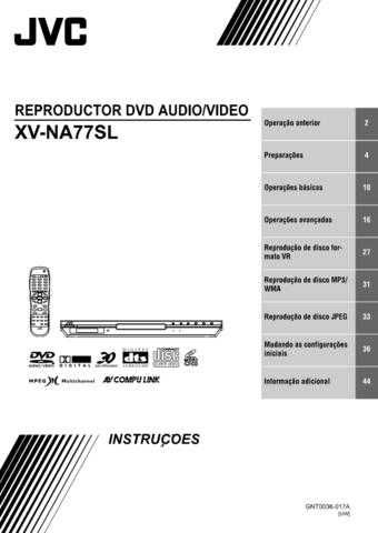 JVC GNT0036-017A Operating Guide by download Mauritron #291414
