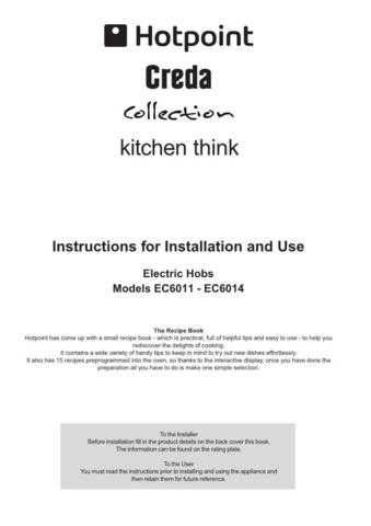 Hotpoint EC6011 EC6014(2) Operating Guide by download Mauritron #311961