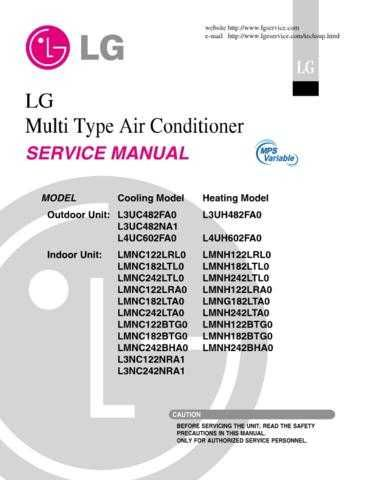 LG A20452C_3 CDC-2182 Manual by download Mauritron #304413