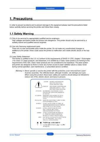 20080609103228640 01-PRECAUTIONS 3 Manual by download Mauritron #302907