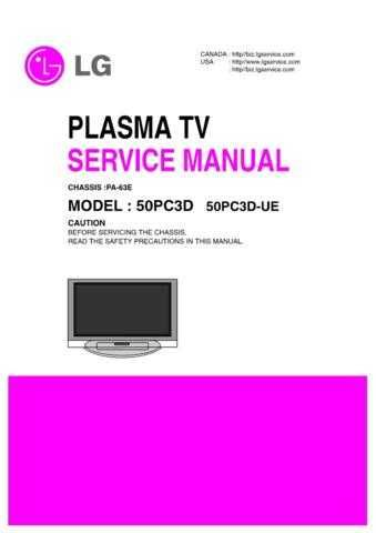 LG 38289S0065K. Manual by download Mauritron #303763