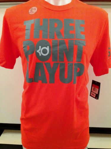 Men's Nike Dri-Fit Basketball Shirt; KD Three Point Layup; S-L; NWT; U A baller?