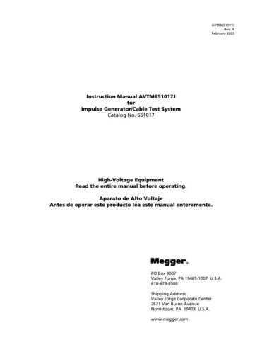 Biddle AVTM-672001 Operating Guide by download Mauritron #309480
