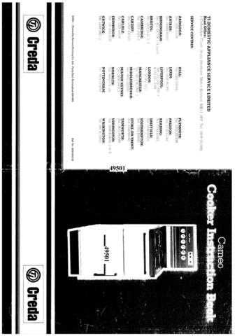 Creda 49501 Operating Guide by download Mauritron #312795