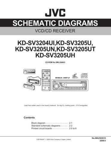 JVC KD-SV3205UH-2 Service Manual by download Mauritron #282303