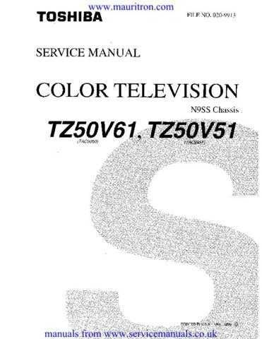 Toshiba TZ Series Service Manual by download Mauritron #306616