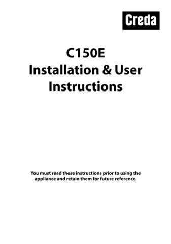 Creda C150EG Operating Guide by download Mauritron #312817