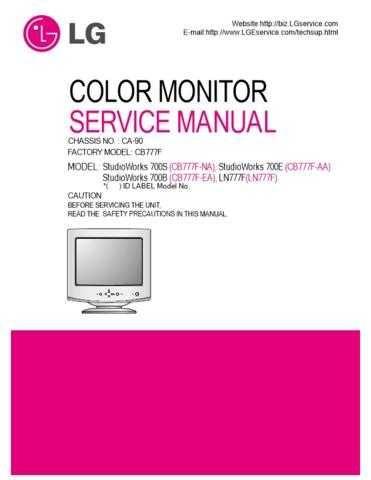 LG 3828TSL071A(CB777F_FULL)_2 Manual by download Mauritron #304151