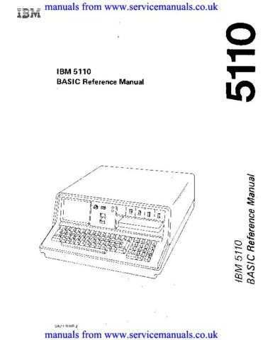 IBM SA21-9308-2_BASIC_Ref_Apr79 Technical Manual by download Mauritron #306073