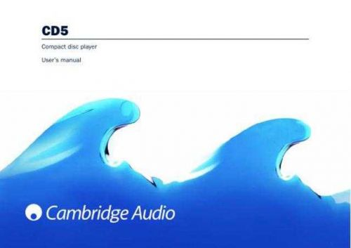 Cambridge Audio AP202063CACD5v3UsersManual by download Mauritron #311778