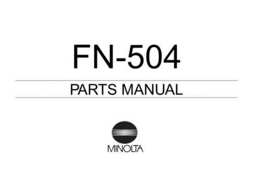fn-504 (4612_7996_21) Manual by download Mauritron #306033