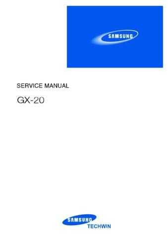20080528111437640 GX-20 SERVICE Manual by download Mauritron #302885