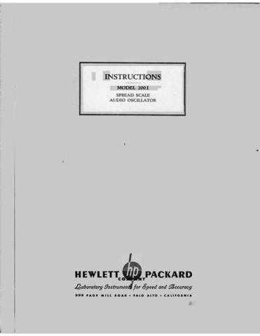 Hewlett Packard 200i Service Manual by download Mauritron #326579