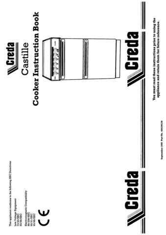 Creda HB48427 Operating Guide by download Mauritron #312909