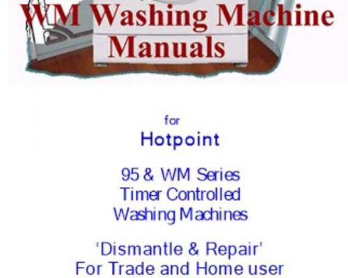 Hotpoint WM64 Service Manual by download Mauritron #314529