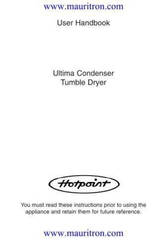Hotpoint TCM65 Guide by download Mauritron #319206