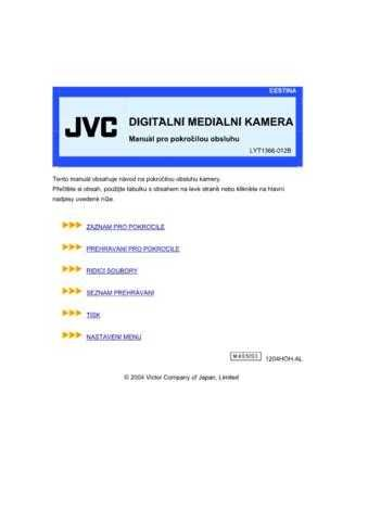 JVC LYT1366-012B 2 Operating Guide by download Mauritron #296238