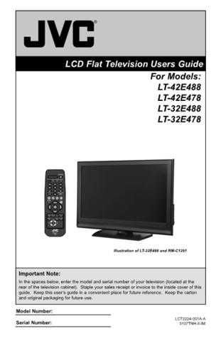 JVC LCT2224-001A-A 2 Operating Guide by download Mauritron #293770