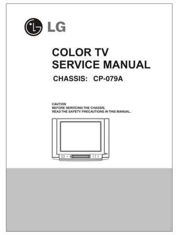 LG service manul 21fj6ag-A9 CDC-2182 Manual by download Mauritron #305905