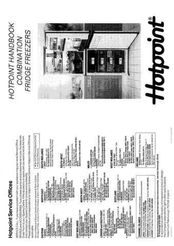 Hotpoint 8554 Refrigeration Operating Guide by download Mauritron #313354