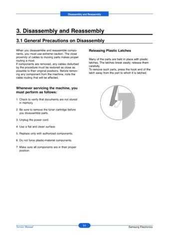 20071105135942203 03-DISASSEMBLY Manual by download Mauritron #302682