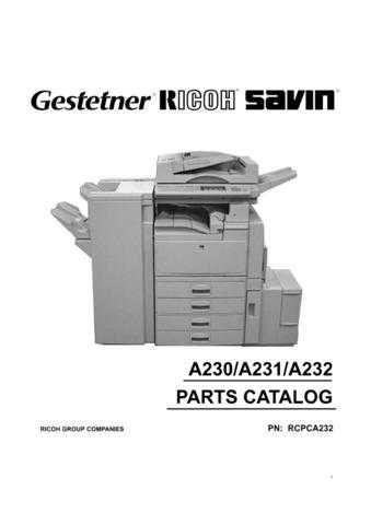 Hitachi A230-A231-A232-[4] Service Manual by download Mauritron #288548