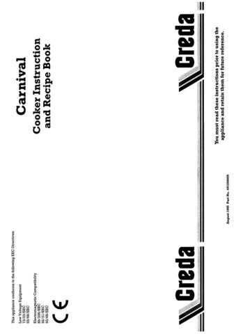Creda HB49126 Operating Guide by download Mauritron #312927