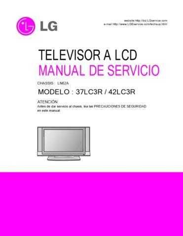 LG 37033101(32_37_42LC2DA-UE) Manual by download Mauritron #303699