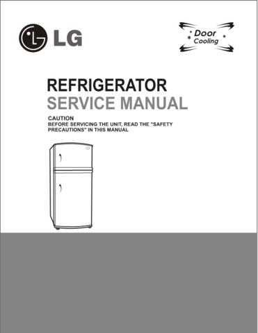 LG LG-REF SERVICE MANUAL DD3 and DD4_18 Manual by download Mauritron #305001