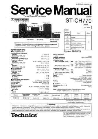 Panasonic SU_V8 SUP Manual by download Mauritron #301737